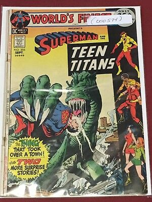 WORLD'S FINEST 205 Superman Teen Titans Lower Grade