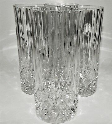 Gorham Water Highball Glass Lady Anne Signature Clear Crystal  5746987