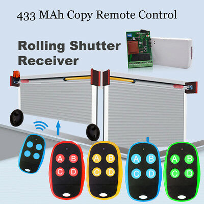Key Multi-frequency  Remote Control 433MHz Garage Door Wireless Transmitter