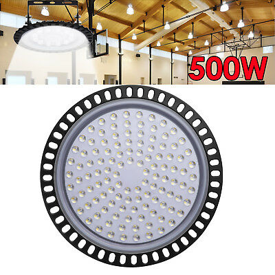 500W LED High Bay Light Fixture Warehouse Industrial Factory Commercial Lamp Gym