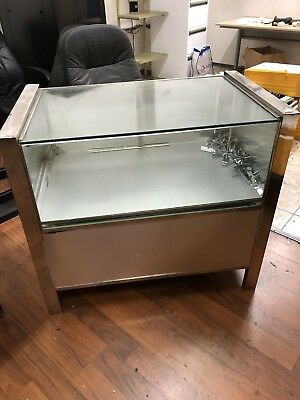 Glass Display Counter Cabinate Retail Shop