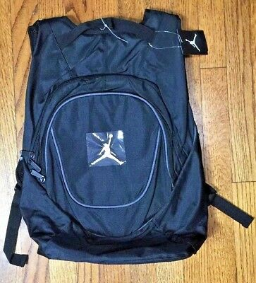 3d23e44aa2bd Nike Air Jordan Jumpman Black Book-Bag BackPack 9A1118-804 Size O S
