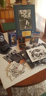 Geelong Cats Fan Pack - Premiers 2011 Cup, Brownlow Medal, Polos, Signed Bobby