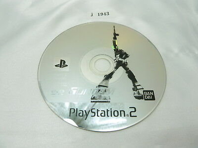 j1943 Mobile Suit Gundam Encounters Space Japanese PS2 Disc Only Playstation 2