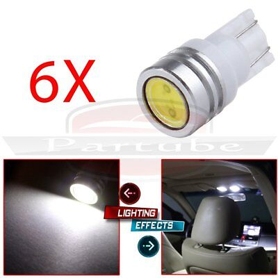 6 x White 921 T15 T10 194 168 SMD Led Back Up Reverse Light Car Wedge Lamp Bulbs
