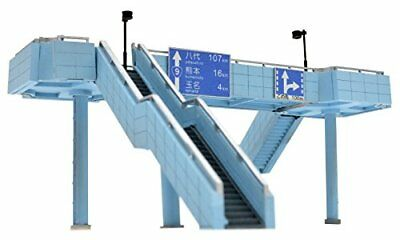 Tomytec Komono 119 Pedestrian Bridge Large Highway Overpass 1/150 N scale