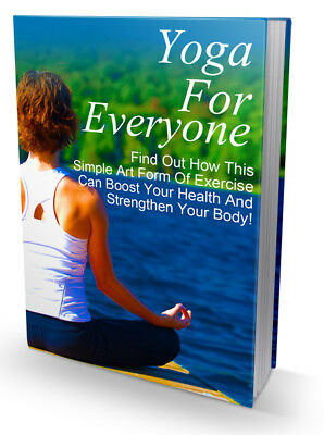 Yoga For Everyone eBook PDF with Resell Rights  Free Shipping.