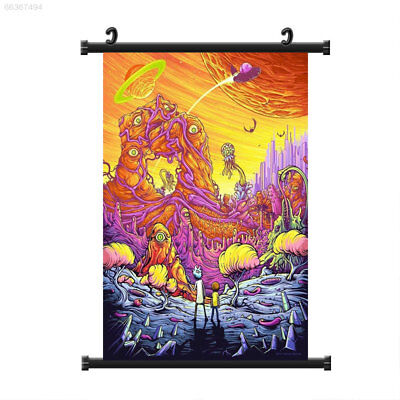 0B8C 40x60cm Cartoon New Poster Print Painting Background Art Wall Picture Home