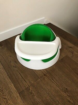 Mamas and Papas Baby Snug Seat with Feeding Tray, Green and White
