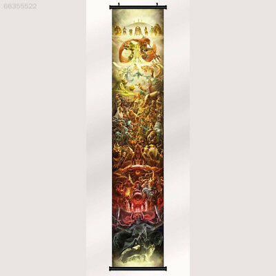 FE8D Anime The Legend of Zelda 25th Anniversary Game Fabric Poster Wall Scroll