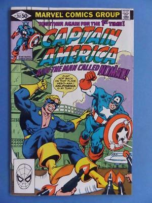 Captain America 261 1981 Nomad Fresh/glossy! High Grade!