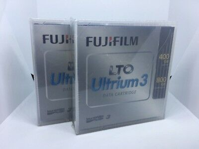Fujifilm LTO Ultrium 3 Data Cartridge 400GB Native 800GB Compressed X2 NEW