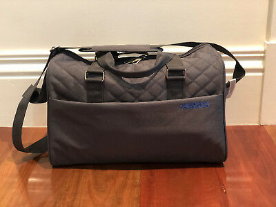 Americal Tourister Grey Overnight bag Sports tote hand luggage carry on Gym
