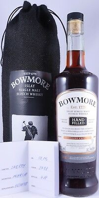 Bowmore 2000 17 Years HF LE 1st Fill Oloroso Sherry Cask 2488 Whisky 58,1% RARE