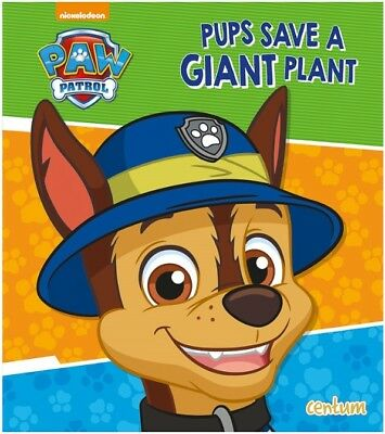 Paw Patrol, Pups Save A Giant Plant Story Book. Children's Reading, Xmas Gift