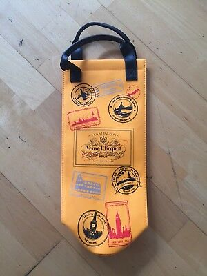 Veuve Clicquot Champagne Flaschenkühler Thermobag Travelbag