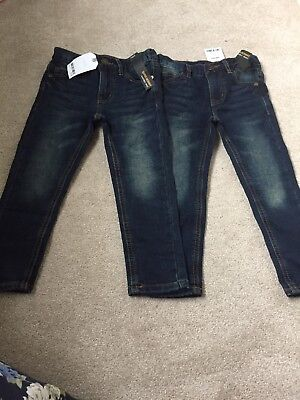 Boys Next Super Skinny Jeans 4 Years.  2 Pairs