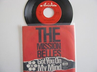 """The Mission Belles Got you on 7"""" Beat Rote Ariola"""