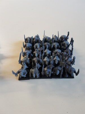 Warhammer Age of Sigmar AoS 9th age Skaven Seuchenmönche Plague Monks