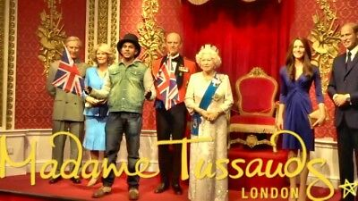 Madame Tussards tickets x2 For 31-Dec-2018 1.15pm