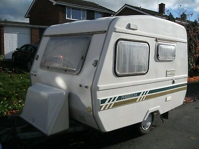Freedom Caravan Sunseeker 400 3/4 Birth Project Teardrop Caravan Lightweight