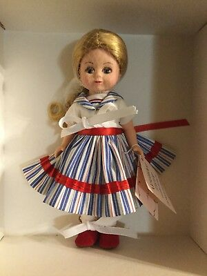 "Madame Alexander 8"" COLLECTIBLE DOLL ""LITTLE SAILOR"" 34730"