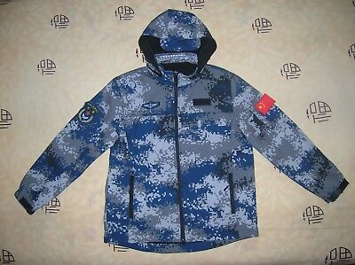 07's series China PLA Air Force Digital Camouflage Winter Technical Jacket