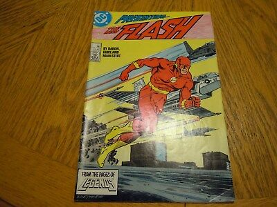 Flash #1 (Jun 1987, DC)(Presenting the new Flash USED)