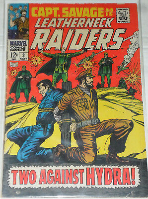 Captain Savage and his Leatherneck Raiders (Marvel) Nr. 3 *SILVER AGE* Mai 1968