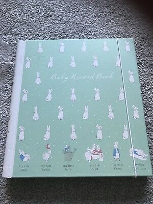 Paperchase Peter Rabbit Baby Memory record Book Unused Official Licensed Product