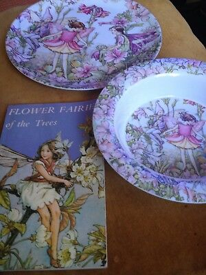 Flower Fairies Melamine Plate & Bowl & Book