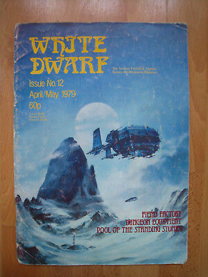 White Dwarf, Issue No.12 April/May 1979 English, Heft, Games Workshop Warhammer