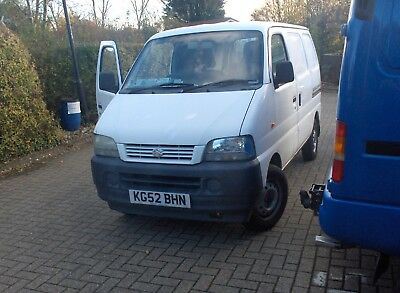 suzuki carry 1.3  long mot white 1 owner