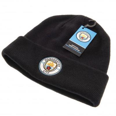 b294a1ea8ec Manchester City Knitted Hat Beanie Cap Gift Official Licensed Football  Product