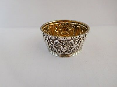 Superb Object Of Virtu Celtic Design Solid Silver Miniature Bowl - London 1891