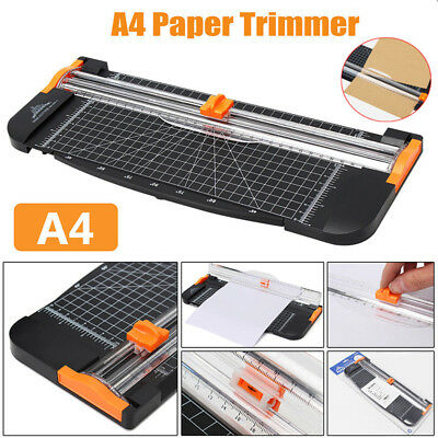 Heavy Duty A4 Photo Paper Cutter Guillotine Card Trimmer Ruler Home Office Tools