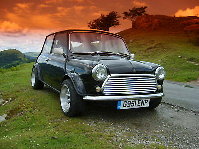 Rover Mini 30 limited edition black one of 1000
