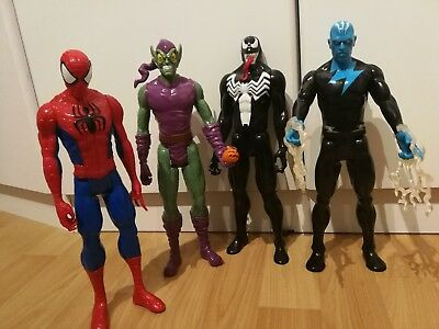 Spiderman, Green Goblin, Venom, Electro Hasbro Set