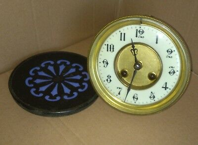 old French Striking Clock Movement with Rear Door Spares Repair