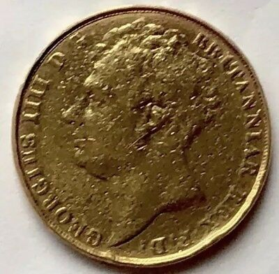 1823 Gold Double Sovereign, (Two Pound Coin) ( Gold £2)