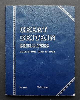 Great Britain  Whitman Folder for Shillings Collection - 1902 to 1936
