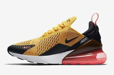 Nike Air Max 270 University Gold Hot Punch AH8050 004 Sz 10