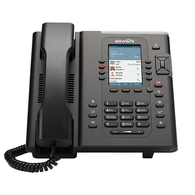 """Allworx Verge 9308 VoIP Phone 3.5"""" Color Display Gig port BRAND NEW! 8113080"""