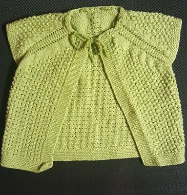 160354d61 HAND KNITTED NWT Baby Girl Clothes Knitwear - Cardigan - Sweater ...