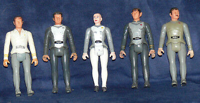 *** MEGO  Star Trek Figuren  *** 5 Stück lose KIRK, SPOCK, ILIA, PILLE, SCOTTY