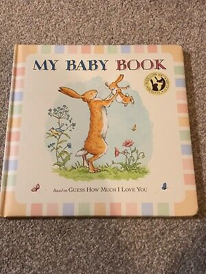 my baby book record book