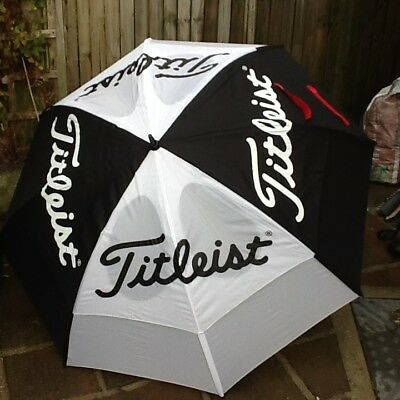 Titleist Umbrella Dual Canopy in New Condition