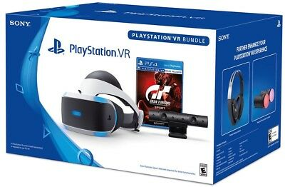 Sony PlayStation VR Headset, camera with 3 games
