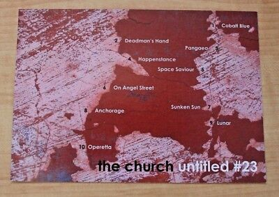 The CHURCH: Untitled #23 Promotional Postcard - MINT RARE