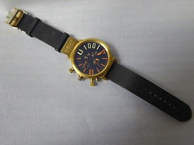 U-Boat Limited Edition Watch, Bronze Finish, Requires Parts.